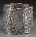Silver Holloware, American:Napkin Rings, A GORHAM SILVER NAPKIN RING, Providence, Rhode Island, circa 1865.Marks: (lion-anchor-G), STERLING, 1760. 1-5/8 inches ...