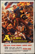 "Movie Posters:Western, The Alamo (United Artists, 1960). One Sheet (27"" X 41""), LobbyCards (7) (11"" X 14""), Program (14"" X 22""), and Pressbook (Mu...(Total: 10 Items)"