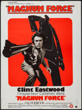 "Movie Posters:Action, Magnum Force (Warner-Columbia, 1974). French Affiche (23.25"" X31""). Action.. ..."