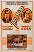 """Movie Posters:Foreign, Picaflor (ECA, 1935). One Sheet (27"""" X 41""""), Photos (7) (8"""" X 10""""). Foreign.. ... (Total: 8 Items)"""