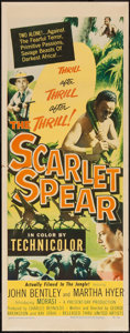 "Movie Posters:Adventure, The Scarlet Spear (United Artists, 1954). Insert (14"" X 36""), TitleCard and Lobby Cards (6) (11"" X 14"") Adventure.. ... (Total: 8Items)"