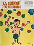 """Movie Posters:Foreign, War of the Buttons (Warner Brothers / Eclair Journal, 1962 / R-1960s). French Grandes (2) (approximately 45.5"""" X 62""""). Forei... (Total: 2 Items)"""
