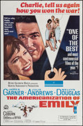 """Movie Posters:Comedy, The Americanization of Emily & Others Lot (MGM, 1964). One Sheets (4) (27"""" X 41"""") & Photos (5) (8"""" X 10""""). Comedy.. ... (Total: 9 Items)"""