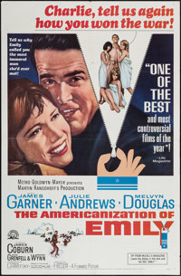 "The Americanization of Emily & Others Lot (MGM, 1964). One Sheets (4) (27"" X 41"") & Photos (5)..."