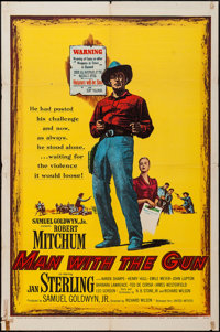 """Man with the Gun & Others Lot (United Artists, 1955). One Sheets (14) (27"""" X 41""""), Poster (30"""" X..."""