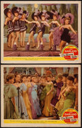 "Movie Posters:Musical, The Harvey Girls (MGM, 1946). Lobby Cards (2) (11"" X 14""). Musical.. ... (Total: 2 Items)"
