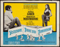 "Movie Posters:Foreign, Yesterday, Today and Tomorrow & Other Lot (Embassy, 1964). Half Sheet (22"" X 28"") & Lobby Cards (3). Foreign.. ... (Total: 4 Items)"