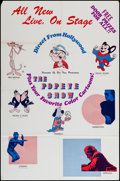 """Movie Posters:Animation, Popeye Stage Show (Fun Times Productions, ca. 1972). Poster (25"""" X38""""). Animation.. ..."""