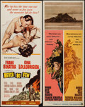 "Movie Posters:War, Never So Few & Other Lot (MGM, 1959). Inserts (2) (14"" X 36"").War.. ... (Total: 2 Items)"