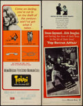 """Movie Posters:Foreign, Topkapi & Other Lot (United Artists, 1964). Inserts (2) (14"""" X 36""""). Foreign.. ... (Total: 2 Items)"""