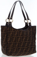 Luxury Accessories:Bags, Fendi Classic Zucca Monogram Canvas Tote Bag . ...