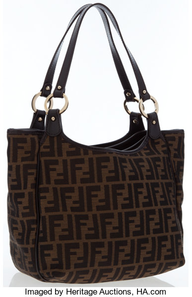 Luxury Accessories Bags, Fendi Classic Zucca Monogram Canvas Tote Bag . 40d593ba9e