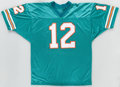 Football Collectibles:Uniforms, Bob Griese Signed Miami Dolphins Jersey....