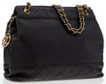 Luxury Accessories:Bags, Chanel Black Lambskin Leather Tote Bag with Gold Hardware . ...