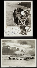 "Movie Posters:Documentary, With Byrd at the South Pole (Paramount, 1930). Photos (2) (8"" X 10""). Documentary.. ... (Total: 2 Items)"