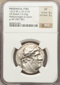 Ancients:Greek, Ancients: PHOENICIA. Tyre. Ca. 126/5 BC - AD 65/6. AR shekel (14.22gm). ...