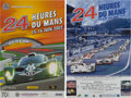 Automobilia, NINE 2000'S LE MANS ORIGINAL EVENT ADVERTISING POSTERS. 2000-2009.All - 15-3/4 x 23-3/4 inches (40.0 x 60.3 cm). ... (Total: 9 Items)