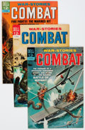 Silver Age (1956-1969):War, Combat File Copies Group (Dell, 1963-73) Condition: Average NM-.... (Total: 81 Comic Books)