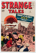 Silver Age (1956-1969):Horror, Strange Tales #97 (Marvel, 1962) Condition: GD/VG....