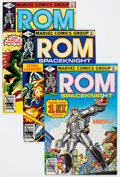 Modern Age (1980-Present):Superhero, Rom Near-Complete Run Group (Marvel, 1979-86).... (Total: 79 ComicBooks)