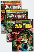 Bronze Age (1970-1979):Horror, Man-Thing Group (Marvel, 1970s-80s) Condition: Average VF+....(Total: 28 Comic Books)