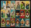 Baseball Cards:Lots, 1909-11 T206 and T205 Tobacco Card Group (18). ...