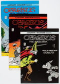 Modern Age (1980-Present):Alternative/Underground, Cerebus the Aardvark Group (Aardvark-Vanahem, 1978-80) Condition:Average VF-.... (Total: 8 Comic Books)