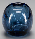 Art Glass:Other , A SABINO GLASS VASE, 20th century. Marks: Sabino. 4-1/2inches high (11.4 cm). ...