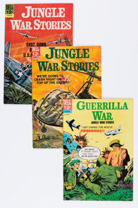 Jungle War Stories #5-11 File Copies Group (Dell, 1962-65) Condition: Average VF/NM.... (Total: 24 Comic Books)