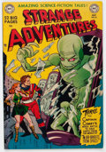 Golden Age (1938-1955):Science Fiction, Strange Adventures #10 (DC, 1951) Condition: FN-....
