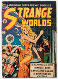 Golden Age (1938-1955):Science Fiction, Strange Worlds #4 (Avon, 1951) Condition: GD/VG....