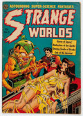 Golden Age (1938-1955):Horror, Strange Worlds #5 (Avon, 1951) Condition: VG....