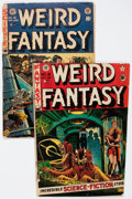 Golden Age (1938-1955):Science Fiction, Weird Fantasy #8 and 19 Group (EC, 1951-53) Condition: Average FR.... (Total: 2 Comic Books)