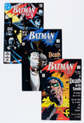Modern Age (1980-Present):Superhero, Batman-Related Group (DC, 1988-90) Condition: Average NM....(Total: 53 Comic Books)