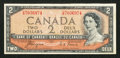 Canadian Currency: , BC-30a $2 1954 Devil's Face. ...
