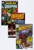 Bronze Age (1970-1979):Horror, Marvel Bronze Age Monster Comics Group (Marvel, 1970s) Condition:Average FN.... (Total: 23 Comic Books)