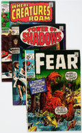 Bronze Age (1970-1979):Horror, Marvel Silver and Bronze Age Horror Comics Group (Marvel,1960s-'70s) Condition: Average FN.... (Total: 23 Comic Books)