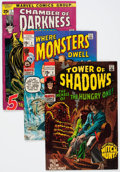 Bronze Age (1970-1979):Horror, Marvel Silver and Bronze Age Horror Comics Group (Marvel,1960s-'70s) Condition: Average VG.... (Total: 29 Comic Books)