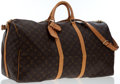 Luxury Accessories:Travel/Trunks, Louis Vuitton Classic Monogram Canvas Keepall 60 BandouliereWeekender Bag. ...