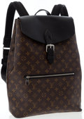Luxury Accessories:Bags, Louis Vuitton Classic Monogram Macassar Canvas Palk Backpack Bag....