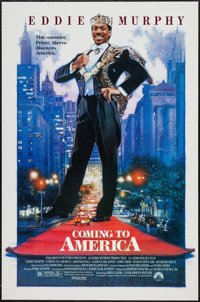"""Coming to America and Others Lot (Paramount, 1988). One Sheets (3) (27"""" X 41"""", 27"""" X 40""""). Comedy..."""