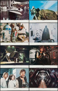 """Movie Posters:Science Fiction, Star Wars (20th Century Fox, R-1978). Lobby Card Set of 8 (11"""" X14""""). Science Fiction.. ... (Total: 8 Items)"""