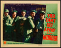 "Movie Posters:Crime, You Can't Get Away with Murder (Warner Brothers, 1939). Lobby Card(11"" X 14""). Crime.. ..."
