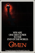 "Movie Posters:Horror, The Omen & Other Lot (20th Century Fox, 1976). One Sheet (27"" X 41"") & Turkish One Sheet (27"" X 39.5"") Advance. Horror.. ... (Total: 2 Items)"