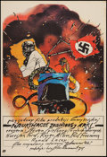 """Movie Posters:Adventure, Raiders of the Lost Ark (Paramount, 1981). Polish One Sheet (26"""" X38.25""""). Adventure.. ..."""