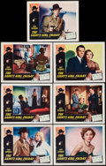 "Movie Posters:Mystery, The Saint's Girl Friday (RKO, 1954). Lobby Cards (7) (11"" X 14"").Mystery.. ... (Total: 7 Items)"