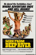 "Movie Posters:Adventure, The Man from Deep River & Other Lot (Joseph Brenner Associates,1972). One Sheets (2) (27"" X 41""). Adventure.. ... (Total: 2 Items)"