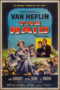 "Movie Posters:War, The Raid & Other Lot (20th Century Fox, 1954). Posters (2) (40""X 60""). War.. ... (Total: 2 Items)"