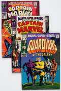 Silver Age (1956-1969):Superhero, Marvel Super-Heroes Group (Marvel, 1967-69) Condition: Average GD/VG.... (Total: 7 Comic Books)