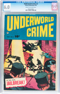 Golden Age (1938-1955):Crime, Underworld Crime #2 (Fawcett Publications, 1952) CGC FN 6.0 Cream to off-white pages....